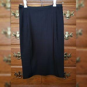 Zara Pencil Skirt, Black